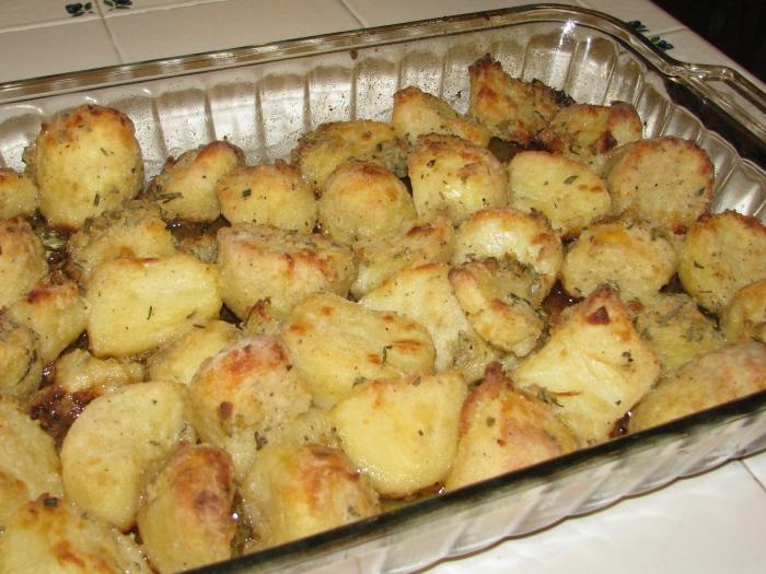 Crusty Roasted Potatoes