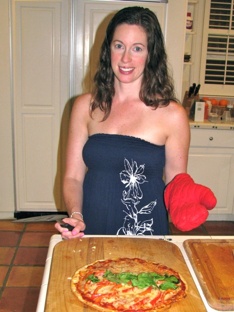 Pizza - Thin crust - Margarita