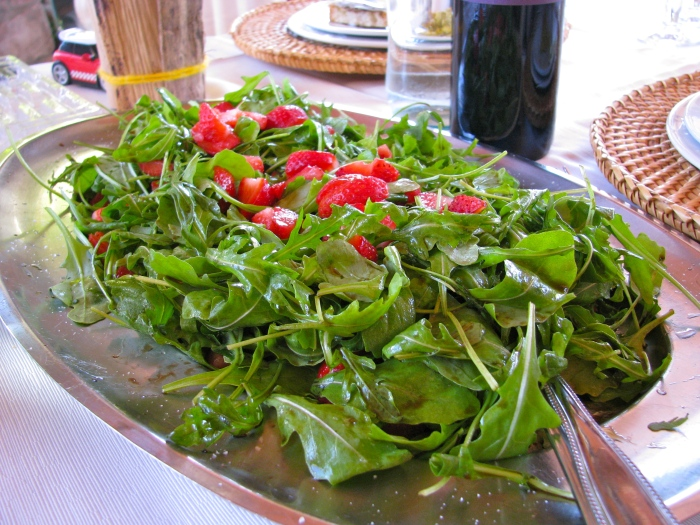 Arugula and Strawberry Salad