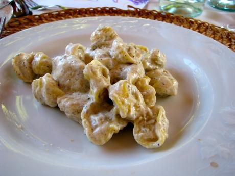Tortellini with Truffle Sauce