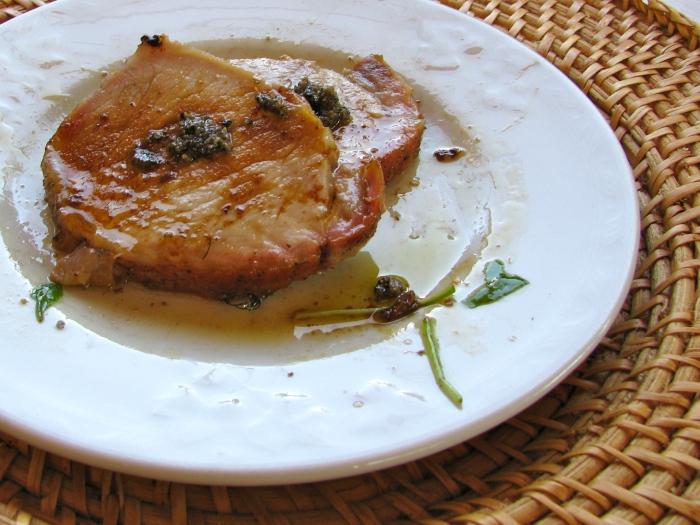 Roast Loin of Pork with Truffles