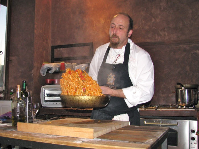 Tossing the Pasta