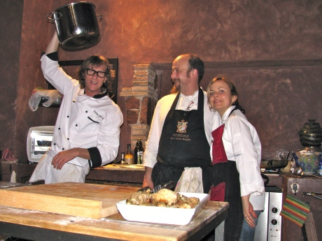 Carlo, Jean Luca and Maria Paola