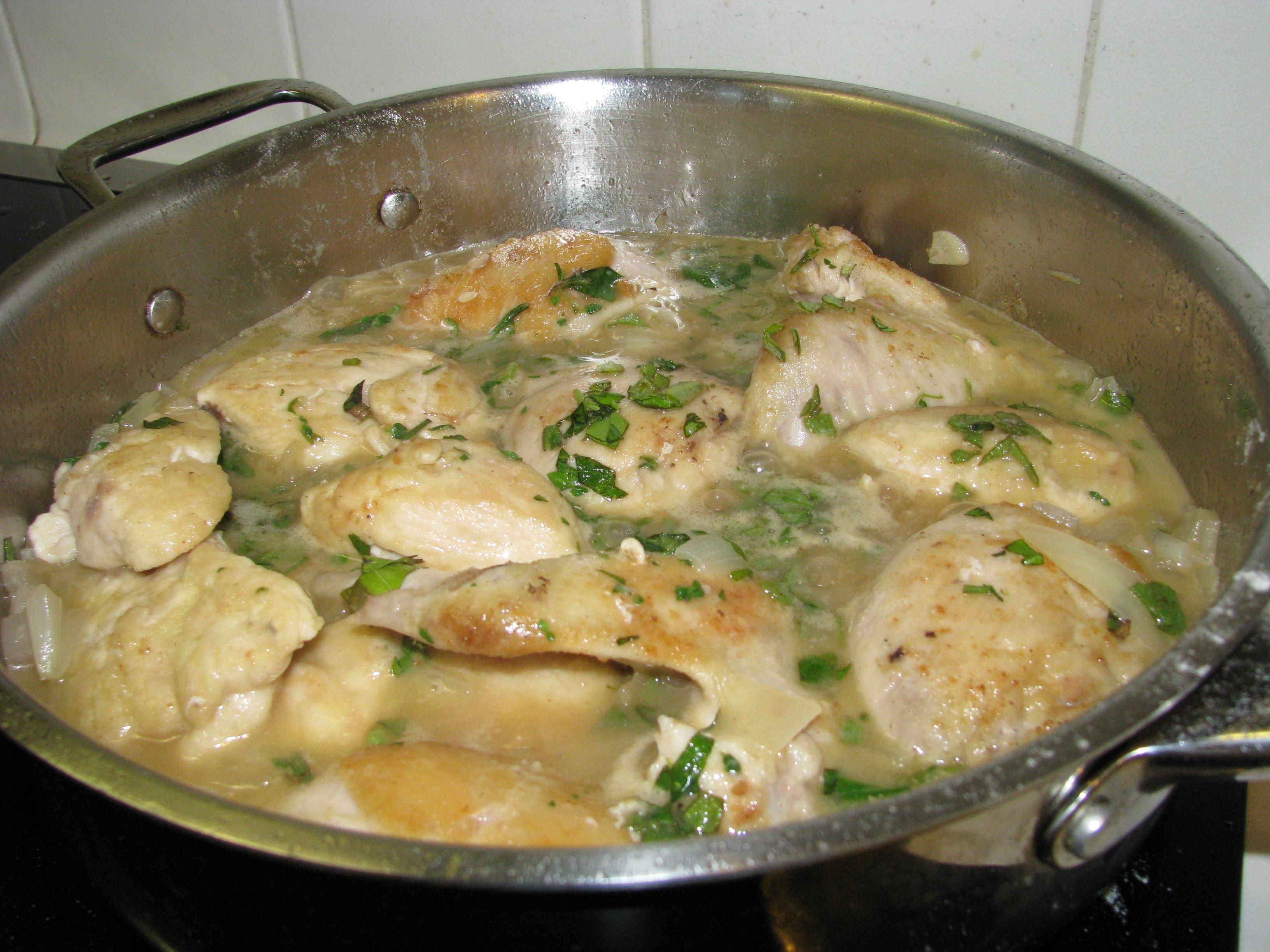 Umbrian Style Chicken Cacciatore