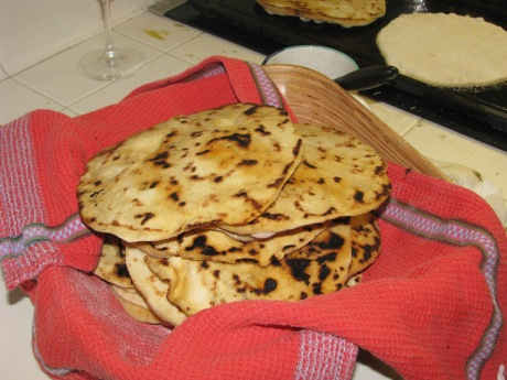 West Indian Naan