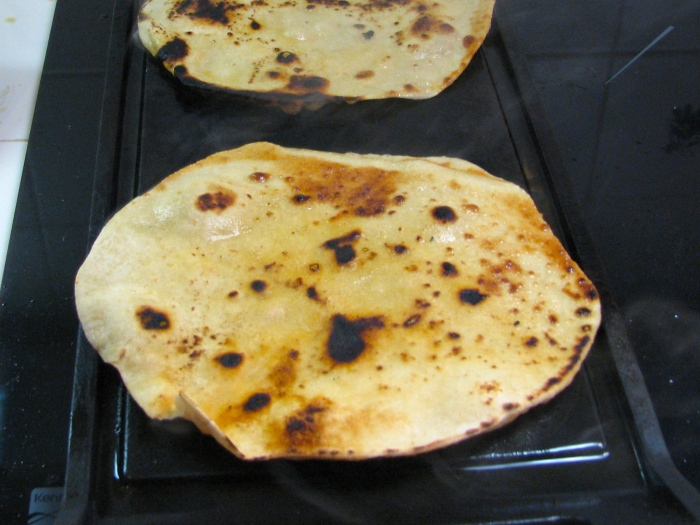 West Indian Roti