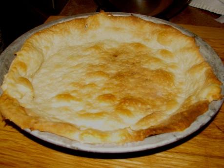 Bottom Crust Proofed