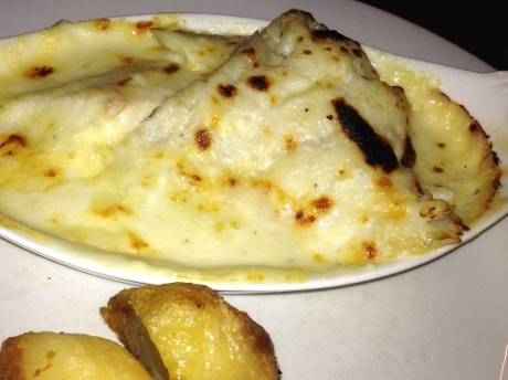 Haddock with Mornay Sauce