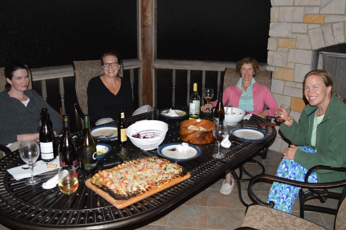 Grilled Pizza Party