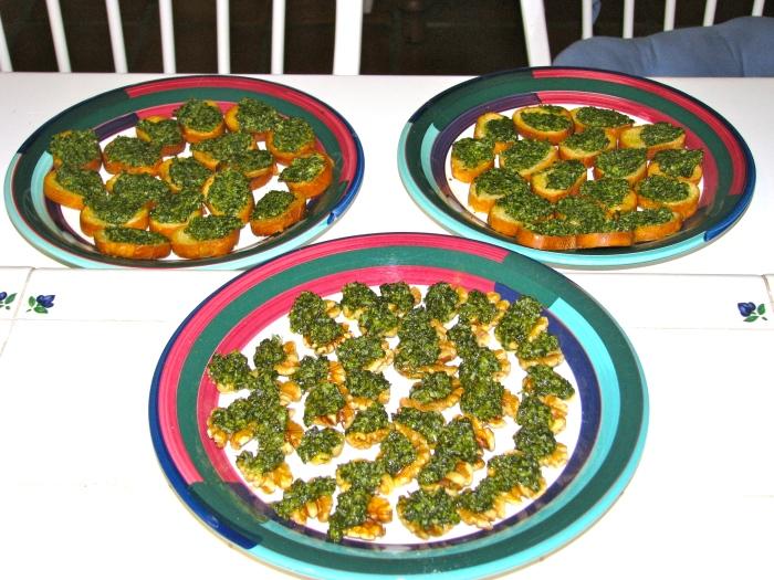 Pesto Appetizers